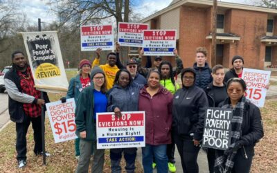 """""""This is violence"""": Communities across NC respond to the eviction crisis"""