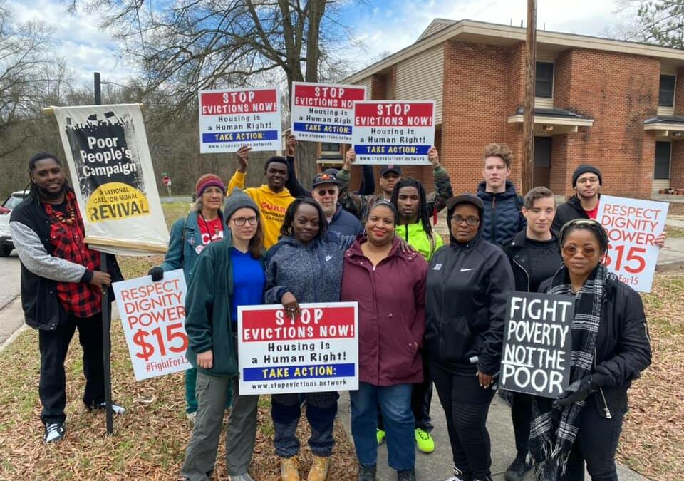 """This is violence"": Communities across NC respond to the eviction crisis"